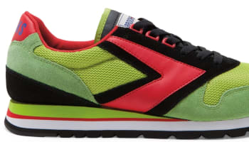 Brooks Chariot Lime Green/Black-High Risk Red