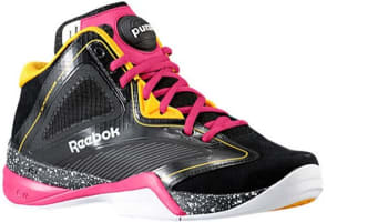 Reebok Pump Revenge Black/Gold-Pink-White