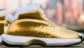 adidas Crazy 1 Metallic Gold/Running White-Red