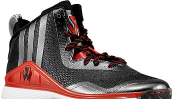 adidas J Wall 1 Black/Scarlet-White