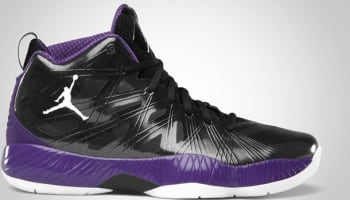 Air Jordan 2012 Lite Black/Club Purple-White