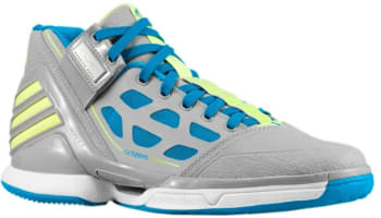 adidas adiZero Rose 2 Grey Lead/White-Electric