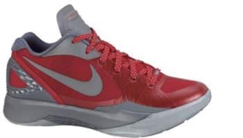 online retailer cf03e 680dc Nike Zoom Hyperdunk 2011 Low PE Sport Red/Metallic Silver-Cool Grey