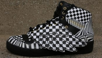 adidas JS Wings Opart Black/White
