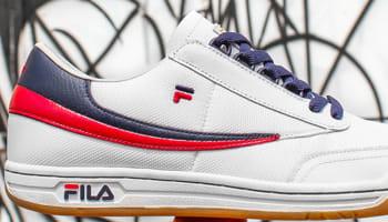 Fila Original Tennis White/Red-Navy
