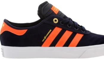 adidas Adi-Ease Collegiate Navy/Solar Orange-Flat White