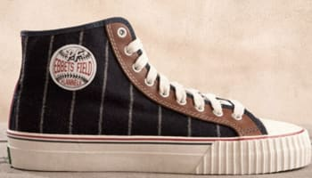 sports shoes 6f250 fb5e3 PF Flyers Center Hi Navy/Off White-Brown
