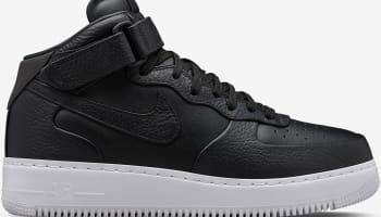 Nike Air Force 1 Mid SP Black/White-Black