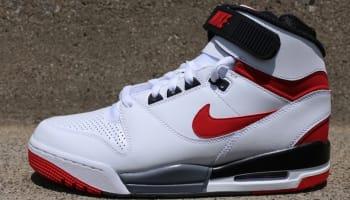 Nike Air Revolution White/University Red-Black-Cool Grey