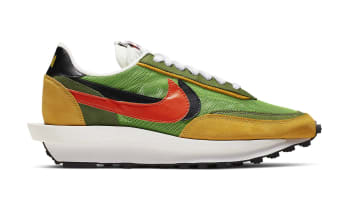 Sacai x Nike LDWaffle Green Gusto/Black-Varsity Maize-Safety Orange