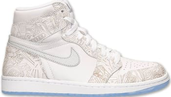 Air Jordan 1 Retro High OG Laser White/Reflective Silver