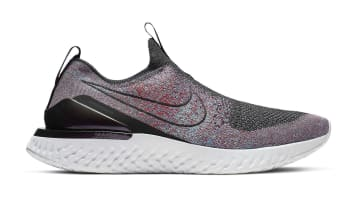 detailed look 812e3 b2c87 Nike Phantom React Flyknit Black Black University Red
