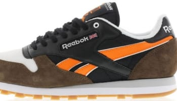 Reebok Classic R12 Black/Grey-Orange-White