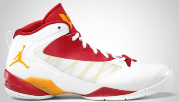 Jordan Fly Wade II EV White/Del Sol-Gym Red