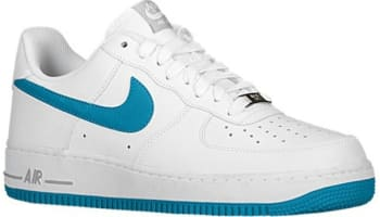 Nike Air Force 1 Low White/Tropical Teal-Wolf Grey