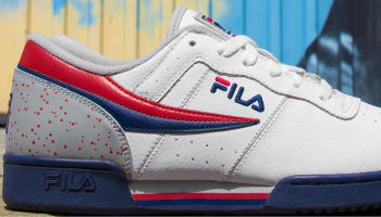 Fila Original Fitness White/Fila Navy-Fila Red