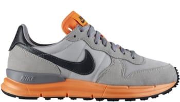 official photos 2a8a8 3b779 Nike Lunar Internationalist Light Base Grey Dark Grey-Atomic Orange