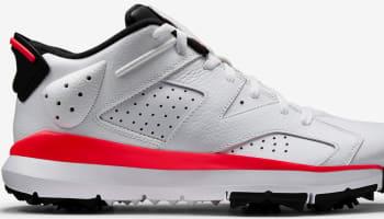 Air Jordan 6 Retro Low Gold White/Black-Infrared 23