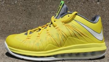 Nike LeBron X Low Sonic Yellow