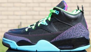 Jordan Son Of Mars Low Black/Club Pink-Gamma Blue-Court Purple
