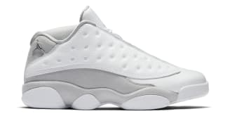 "Air Jordan 13 Retro Low ""Pure Platinum"""