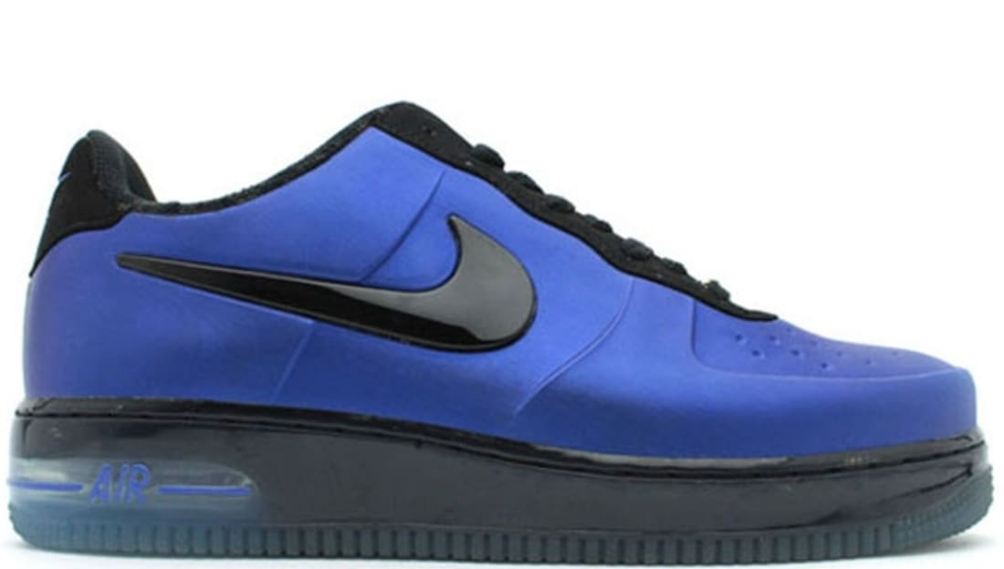 "2fe4522768db1 ... ""Royal Nike Air Force 1 Foamposite Pro Low Varsity RoyalBlack Nike Sole  Collector ..."