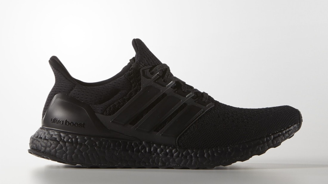 adidas boost black sole