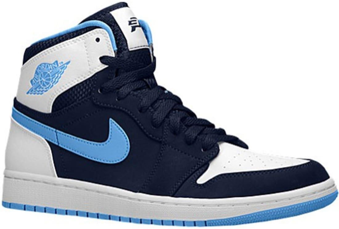 Nike Air Jordan I Retro High Midnight Navy / White / University Blue