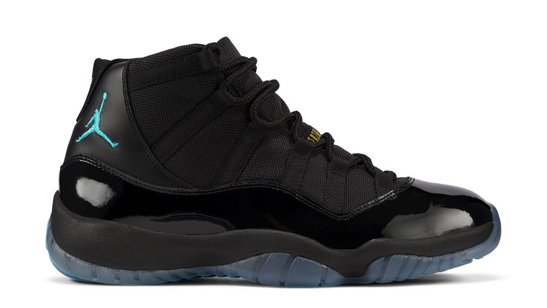 air jordan 11 gamma blue sole collector logo
