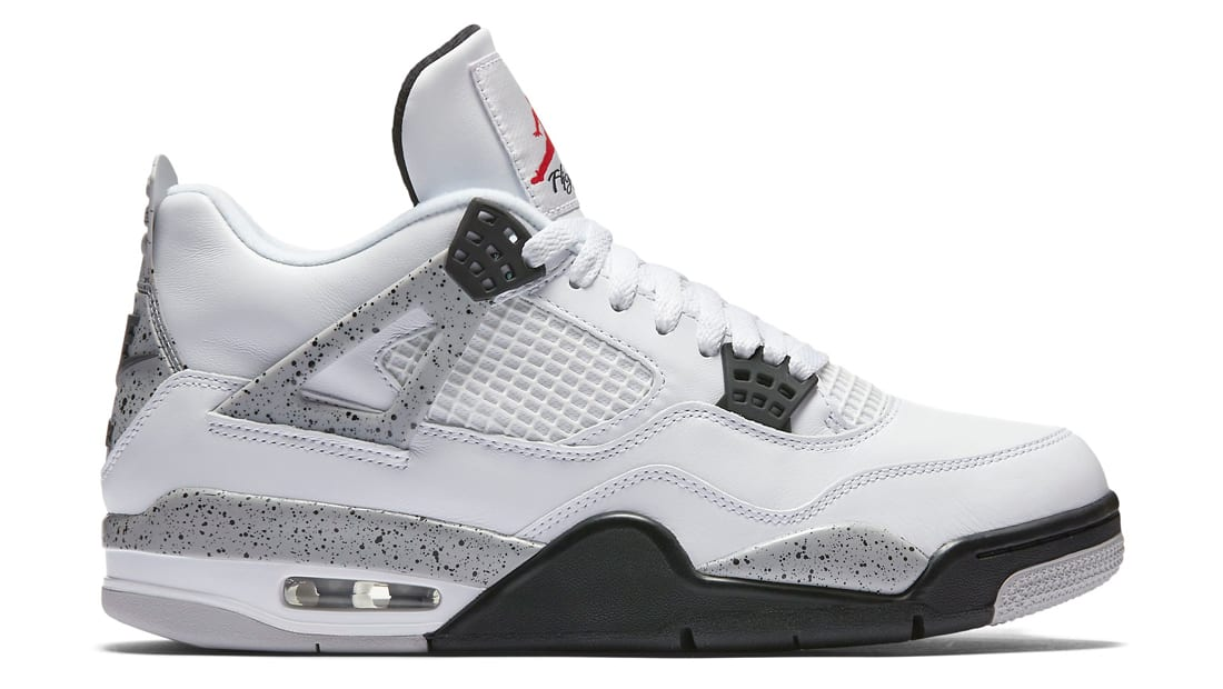 Air jordan 4 retro white cement jordan sole collector