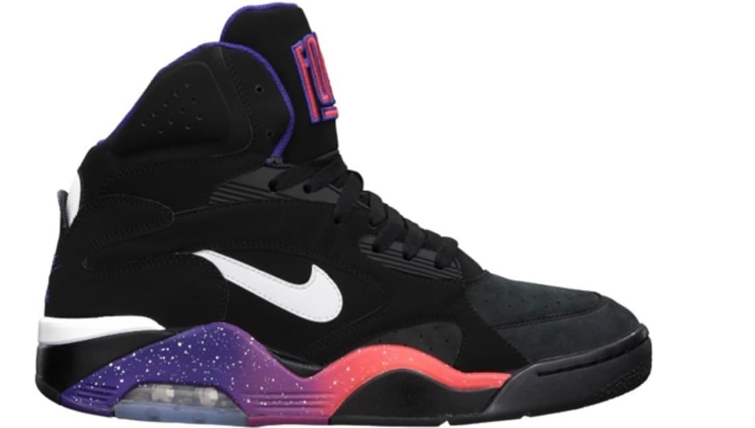 Nike New Air Force 180 Mid Phoenix Suns Black Purple Rave Pink