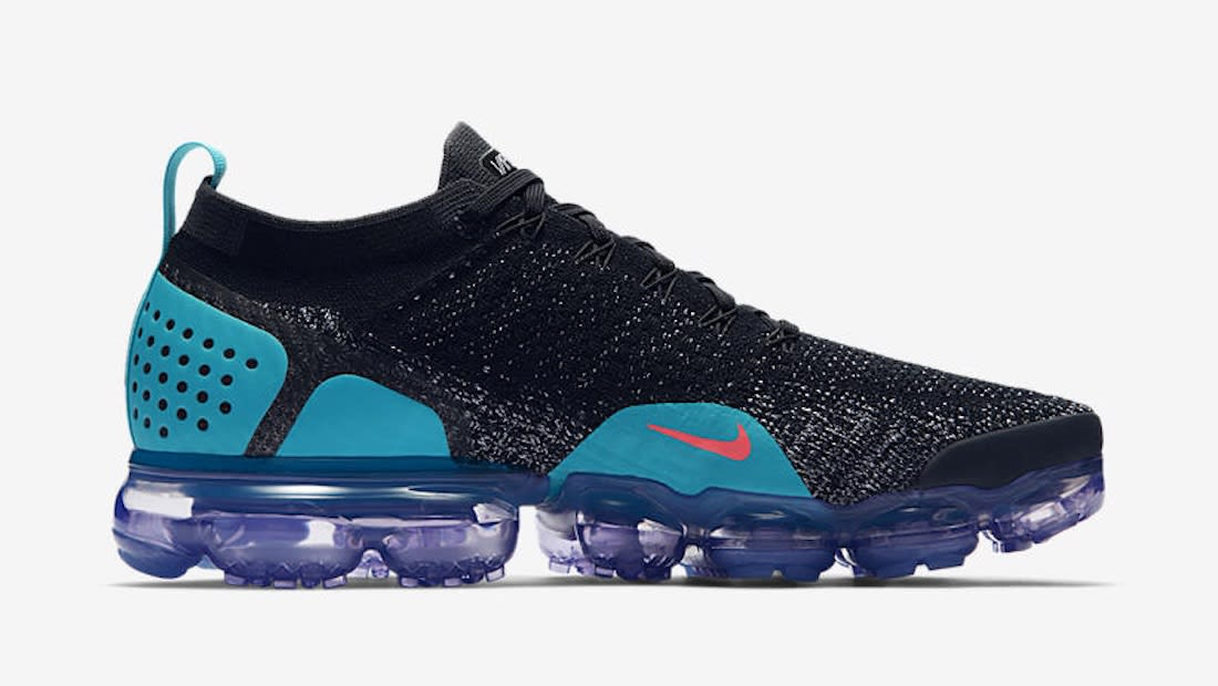 Nike Air VaporMax Flyknit All Black White Shoes