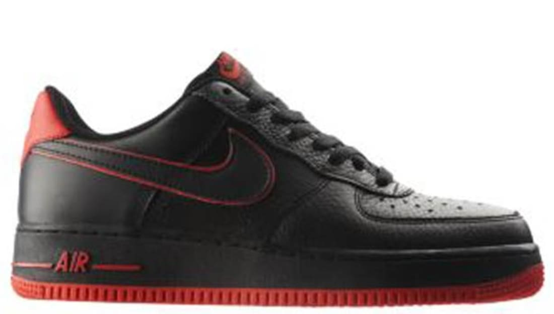 Nike Air Force 1 Low All Red Shoes