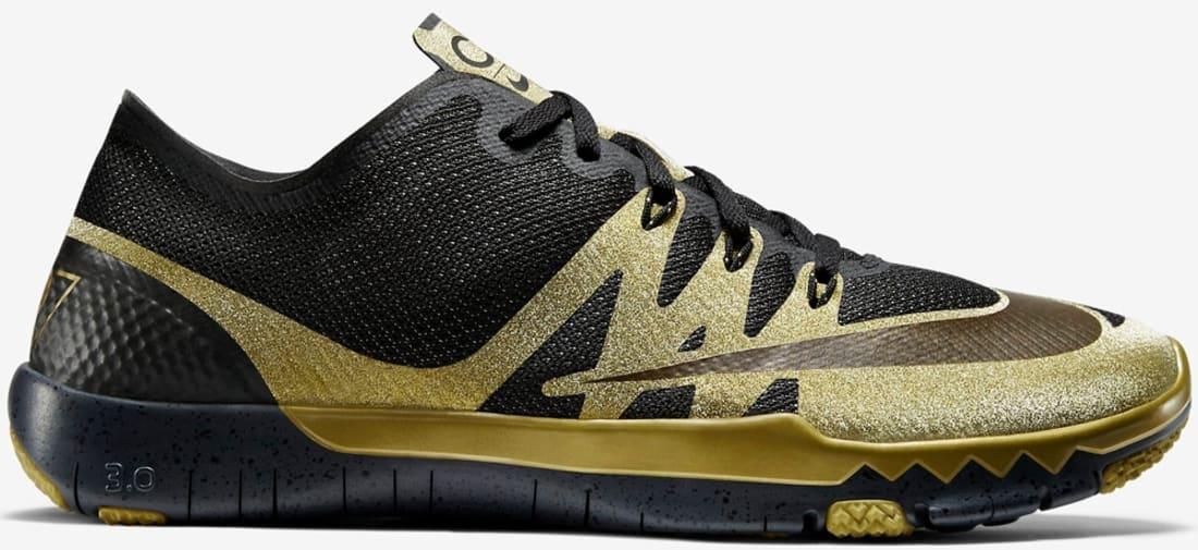 Nike Free Trainer 3.0 V3 Cr7 Black / Gold / Black