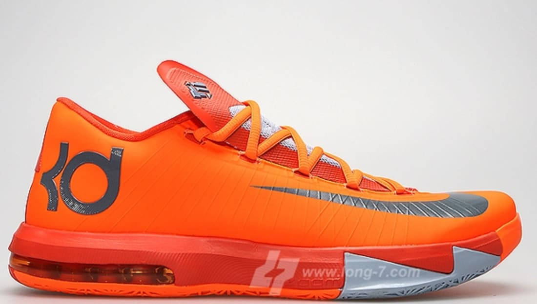 Nike Kd Vi Orange Black 599424800 New Year Deals R6tWbCx