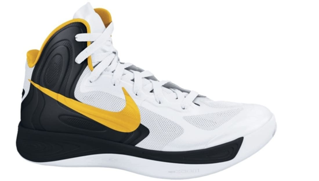Nike Zoom Hyperfuse 2012 White/Black-University Gold | Nike | Sole Collector