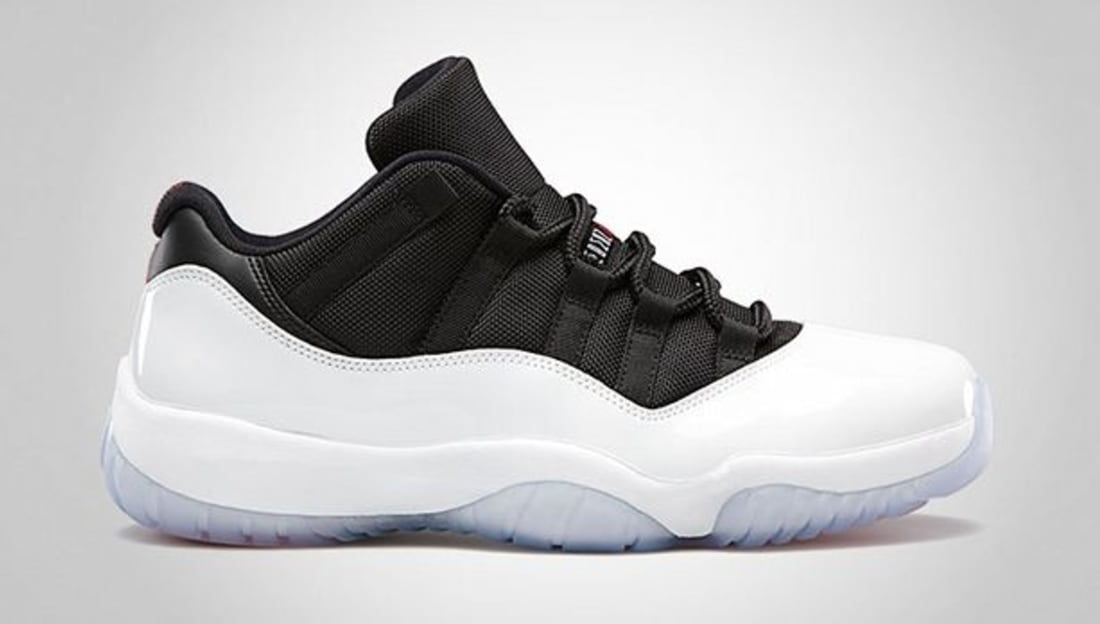 High Quality Nike Air Jordan 11 Low Retro Black White