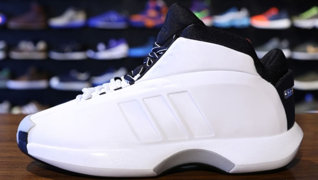 Adidas Crazy 1- White basketball shoes