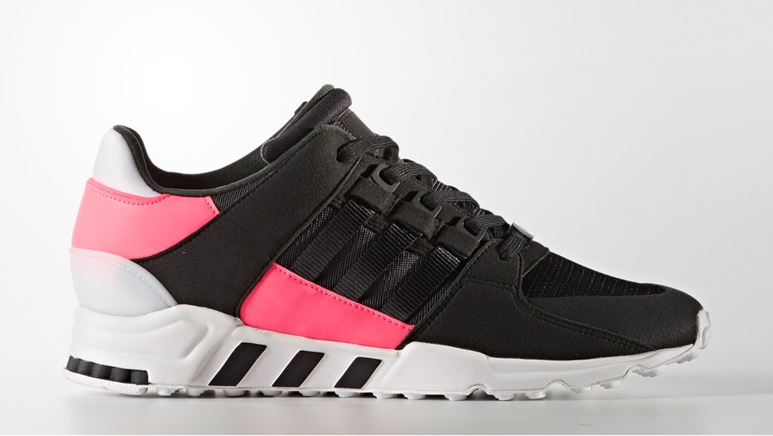 Adidas EQT Support Refine Black / Black-Turbo Red