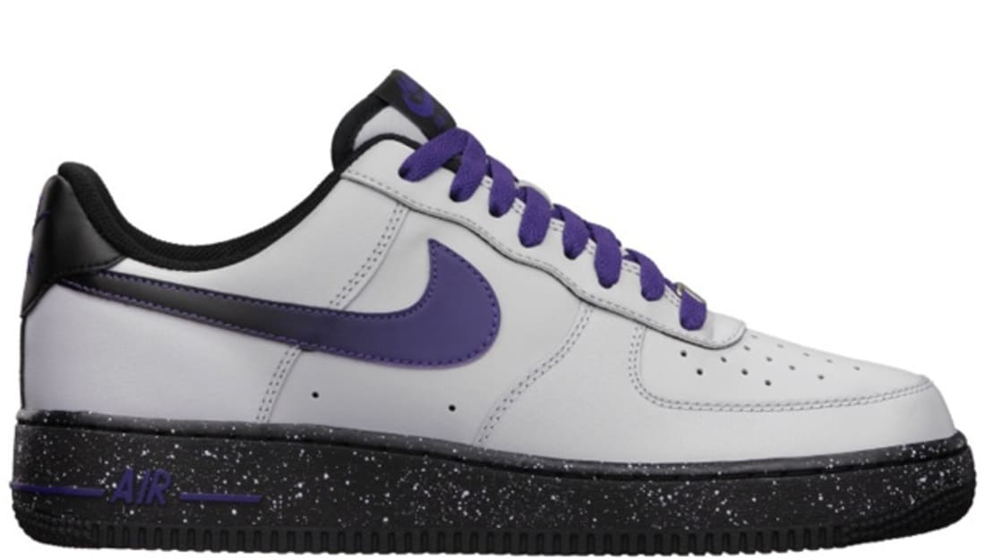 nike air force 1 low grey wolf/ court purple