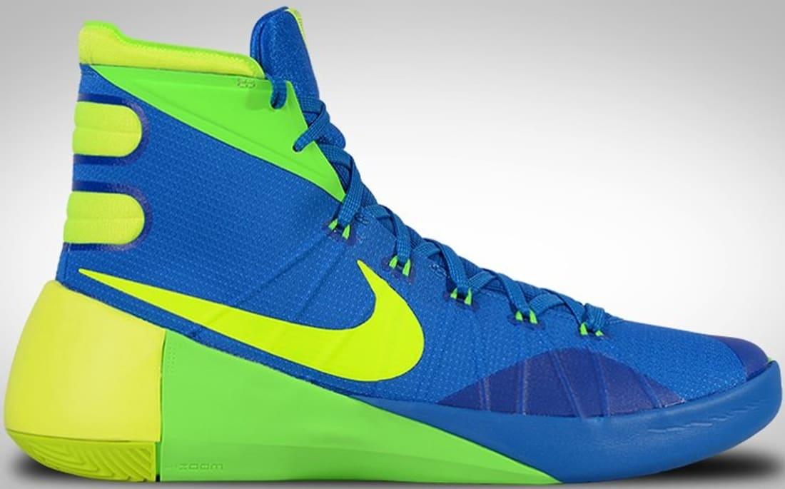 Nike Hyperdunk 2015 Cheap On Sale Soar Volt Green Strike