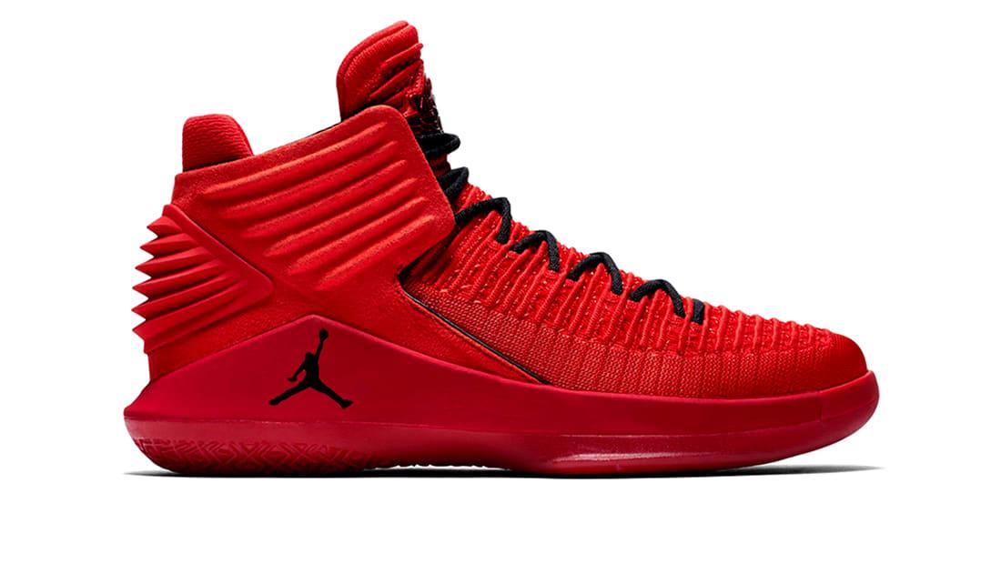 ef071367147a Air Jordan XXXII Rosso Corsa University Red Black Men s Basketball Shoes