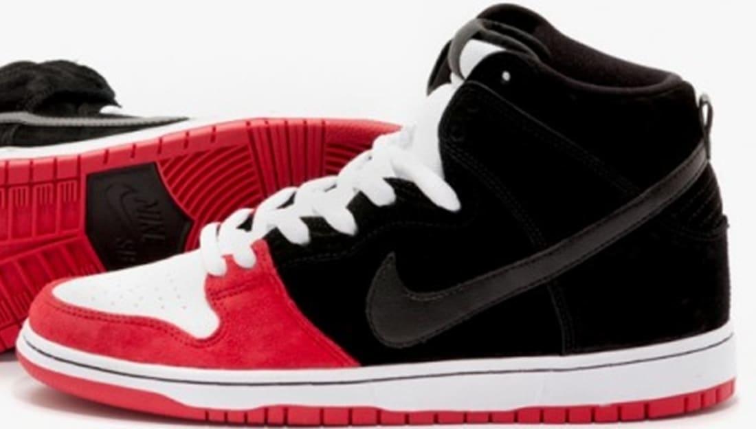 Uprise x Nike Dunk High Premium SB BlackUniversity RedWhite  Nike  Sole  Collector