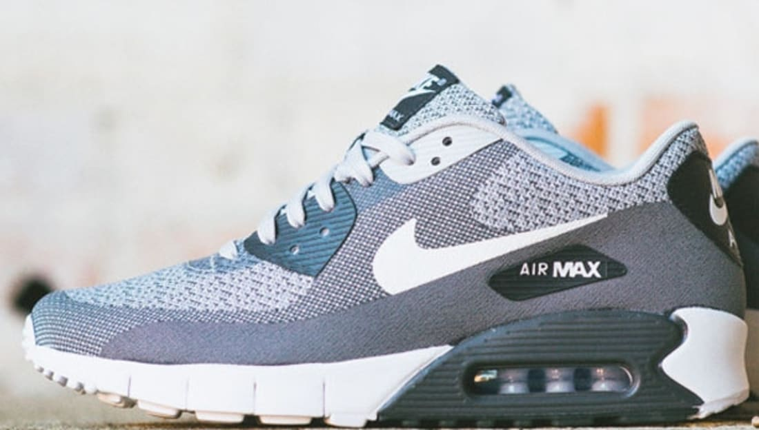 Nike Air Max 90 Jacquard Wolf Grey Pure Platinum White
