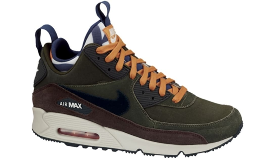 nike air max 90 sneakerboot lagoon green