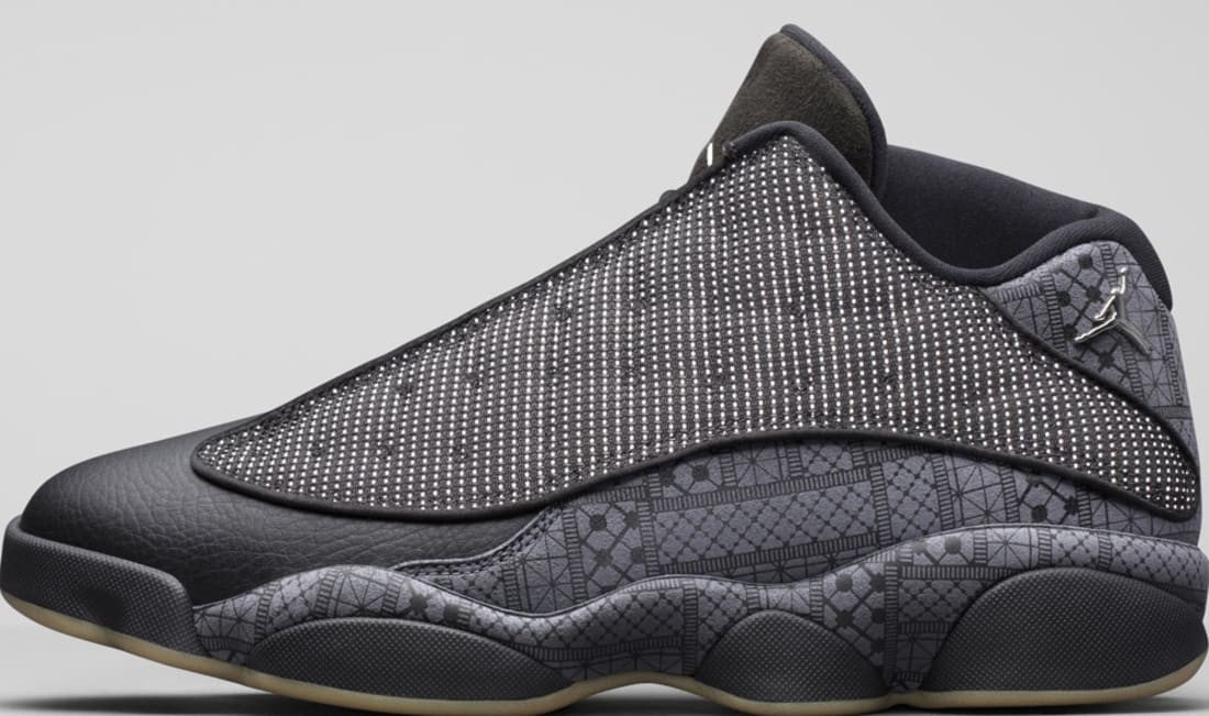 Air Jordan 13 Retro Low Q54 Black/Dark GreyWhiteChrome | Jordan | Sole  Collector
