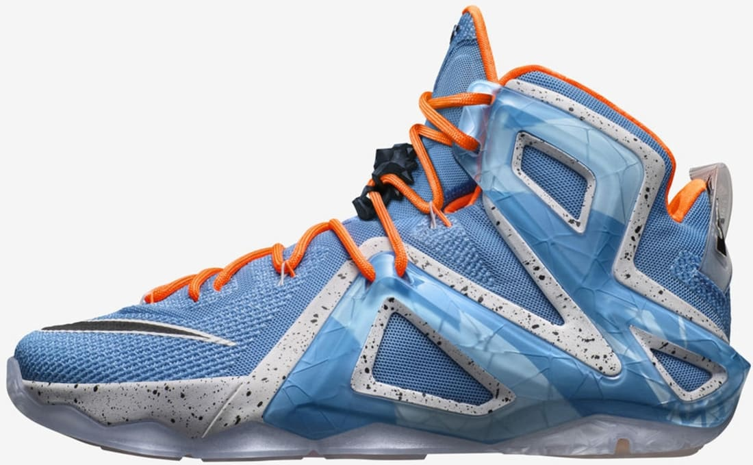 LeBron XII Elite Light Retro/Hot Lava/Artisan Teal/Sunset Glow