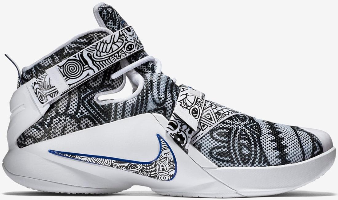 Nike Zoom LeBron Soldier 9 LE Black/Concord/White