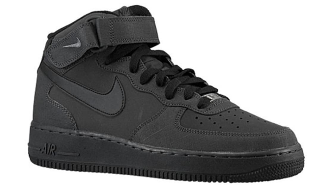 nike air force 1 mid charcoal