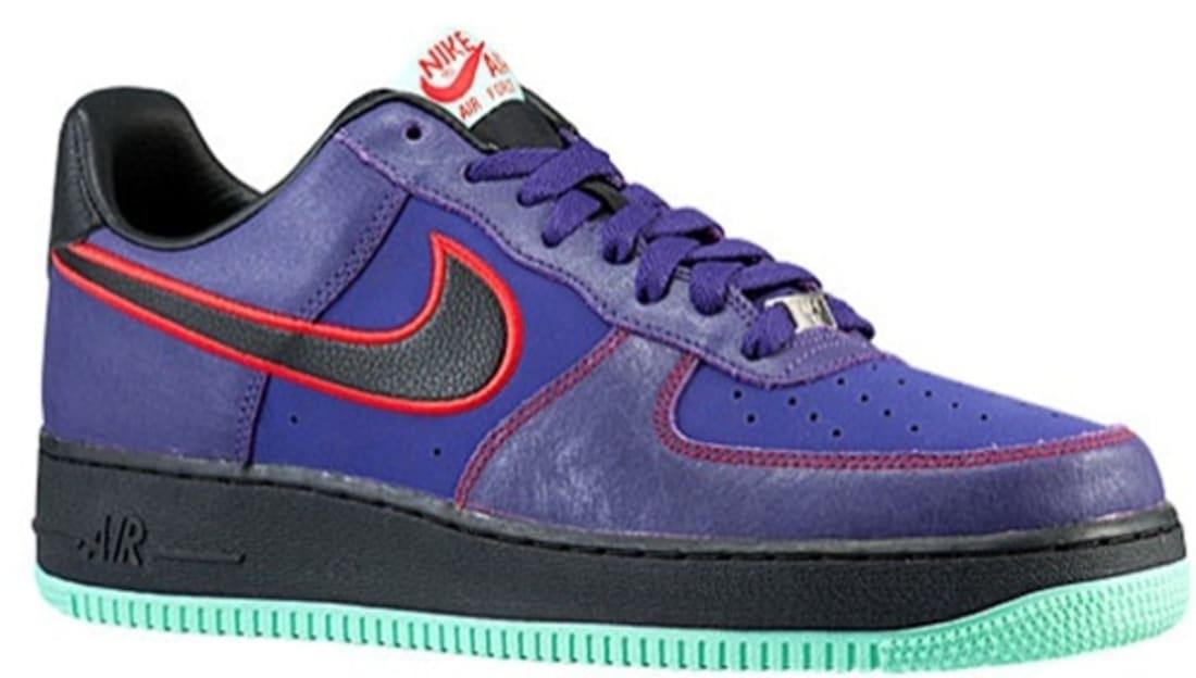 Nike Air Force 1 Low Black Court Purple